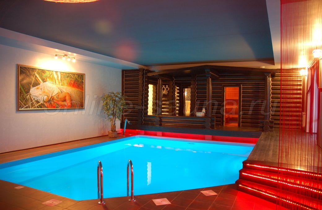 Игуана, банный комплекс
